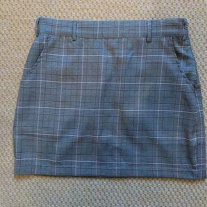 Tobi Honey Punch Plaid Skirt